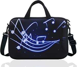 14 Inch Neoprene Laptop Sleeve Case Bag with shoulder strap For 14
