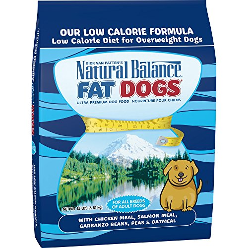 Natural Balance Fat Dogs Low Calorie Dry Dog Food, 15-Pound