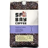 San Francisco Bay Coffee, Hazelnut Crème- Whole Bean, 2-Pound (32 oz.), Flavored