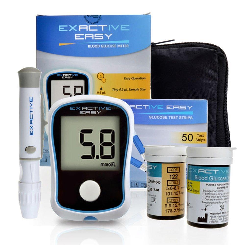 CE Blood Glucose Meters Monitor Diabetics Test glycuresis Monitor blood Sugar Glucometer medidor de glicose 50 strips+50 Needles