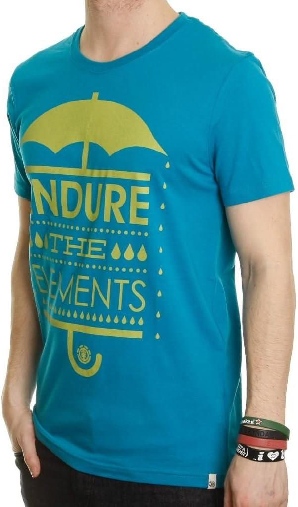 Element de algodón orgánico Camiseta ~ Lluvia Azul: Amazon.es ...