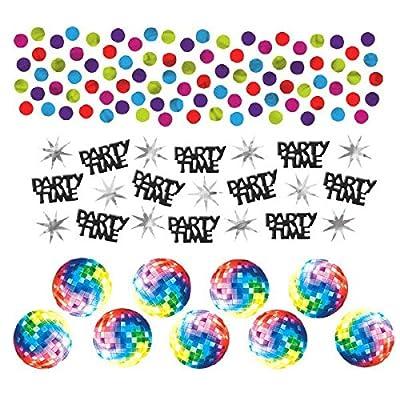 Amscan Confettis de Table Disco - Taille Unique