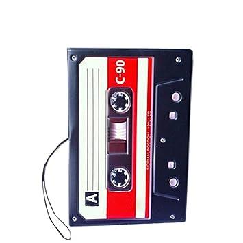 Tape Recorder-Pass-Halter Retro Fuax Leder-Pass-Abdeckung 5 * 3,5 ...