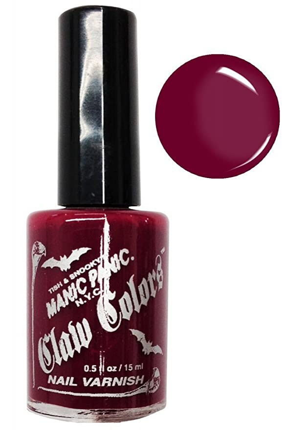 Manic Panic Claw Colors Blood Red Nail Polish Vegan Red by Manic ...