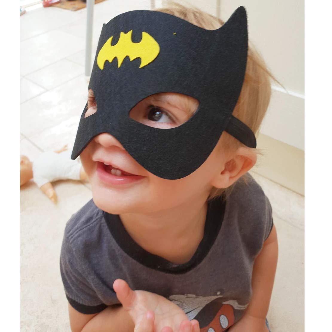 Formwin - Máscaras de Batman para niños, para Fiestas, superhéroes, Fiestas, superhéroes, máscaras de Fiesta para niños: Amazon.es: Productos para mascotas