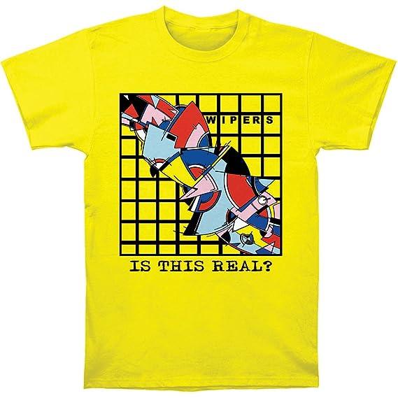 Impact Limpiaparabrisas es Esto Real? Camiseta para Hombre Grande Amarillo
