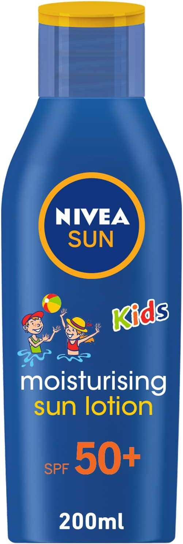 Nivea Sun Children Sun Lotion Spf 50+ Long Lasting Water Resistant Immediate