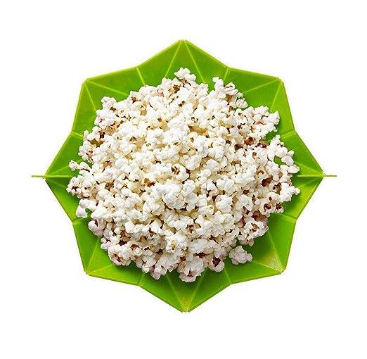 Cubo de palomitas elyseesen horno de microondas silicona Popcorn ...