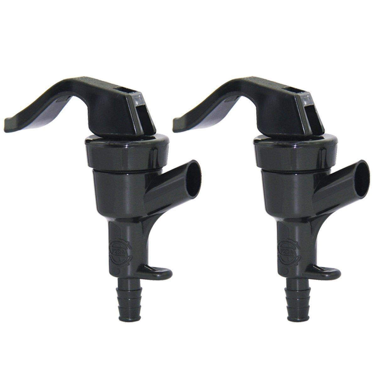 PERA 2 Pack Picnic Tap Faucet Disconnects Spigot keg Bottling Bucket Tap