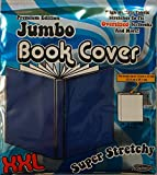 It's Academic Premium Edition Super Stretch Book Cover: Navy Blue - Fits 10