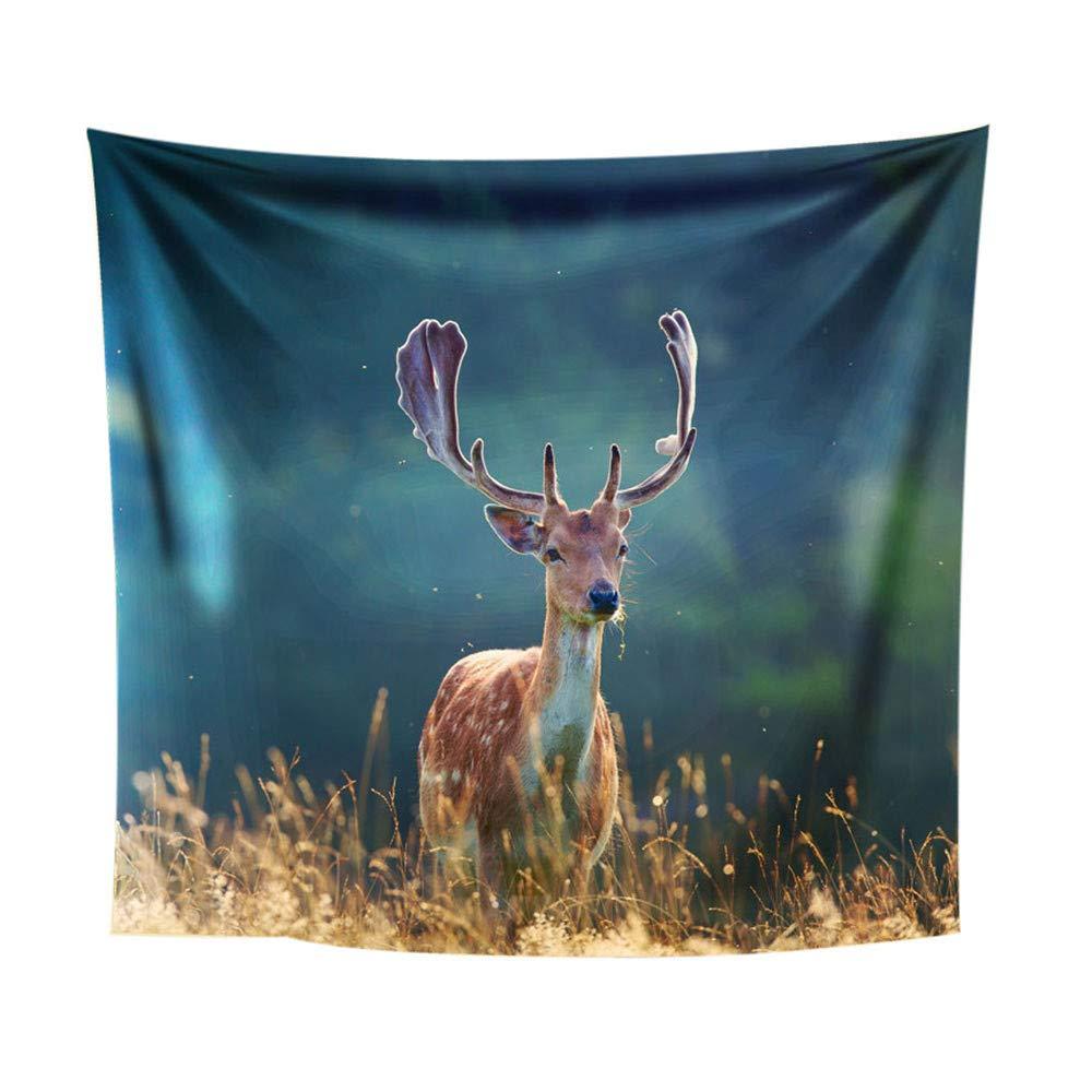 Weiliru Printed Shower Curtain Tapestry Throw Blanket Bedspread Coverlet Home Decor