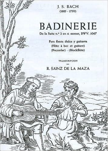 BACH - Badinerie de la Suite nº 2 en Si Menor BWV:1067 para Flauta ...