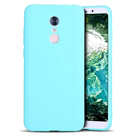 MoEvn Redmi 5 Plus Funda, Carcasa para Xiaomi 5 Plus, Case Cover TPU Suave Silicona, Slim Anti Skid Anti Rasguño Color Gel Funda para Xiaomi Redmi 5 ...