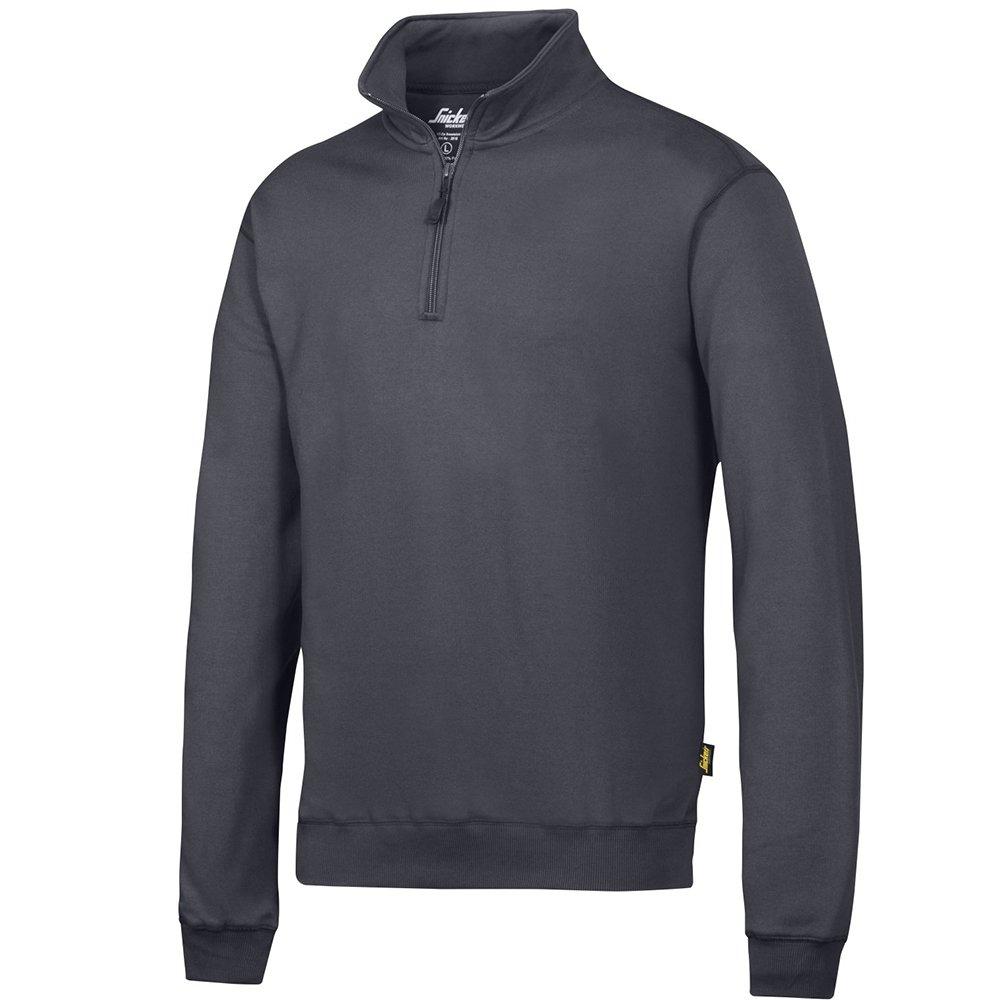 Snickers 28180400008 Sweatshirt with 1//2 Zip Size XXL in Black