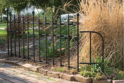 Panacea Products 87103 30 Quot X37 Quot Metal Fence Black