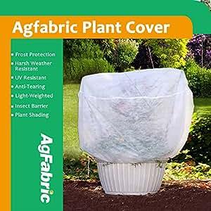 """agfabric .55oz para crecimiento de plantas y arbustos Wrap para invierno Escarcha Protección, barrera contra insectos 26""""X42"""" (3)"""