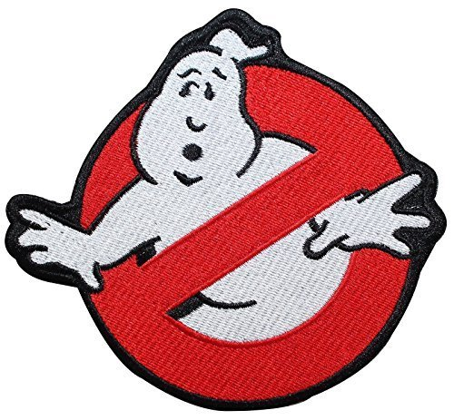 2 X Ghostbuster Movie Embroidered Uniform Logo Patch ()