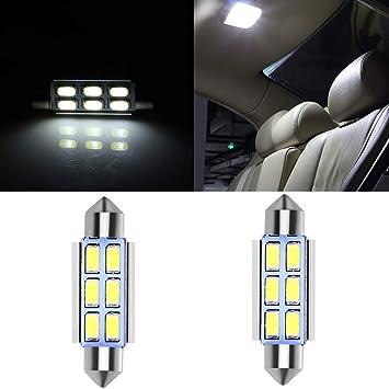 Amazon.com: Bombillas LED de coche cciyu de 1.654 in ...