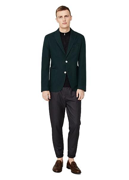 MANGO MAN - Chaqueta de traje - para hombre verde 54: Amazon ...