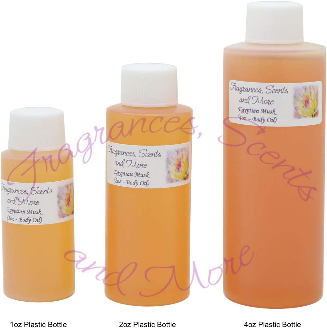 Egyptian Musk Perfume/Body Oil (7 Sizes) - Free Shipping (4oz Plastic Bottle (120ml))