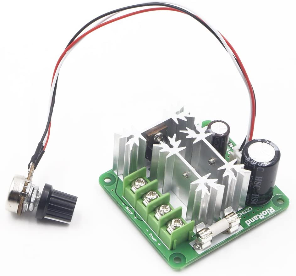 RioRand Upgraded 6V-90V 15A DC Motor Pump Speed Controller
