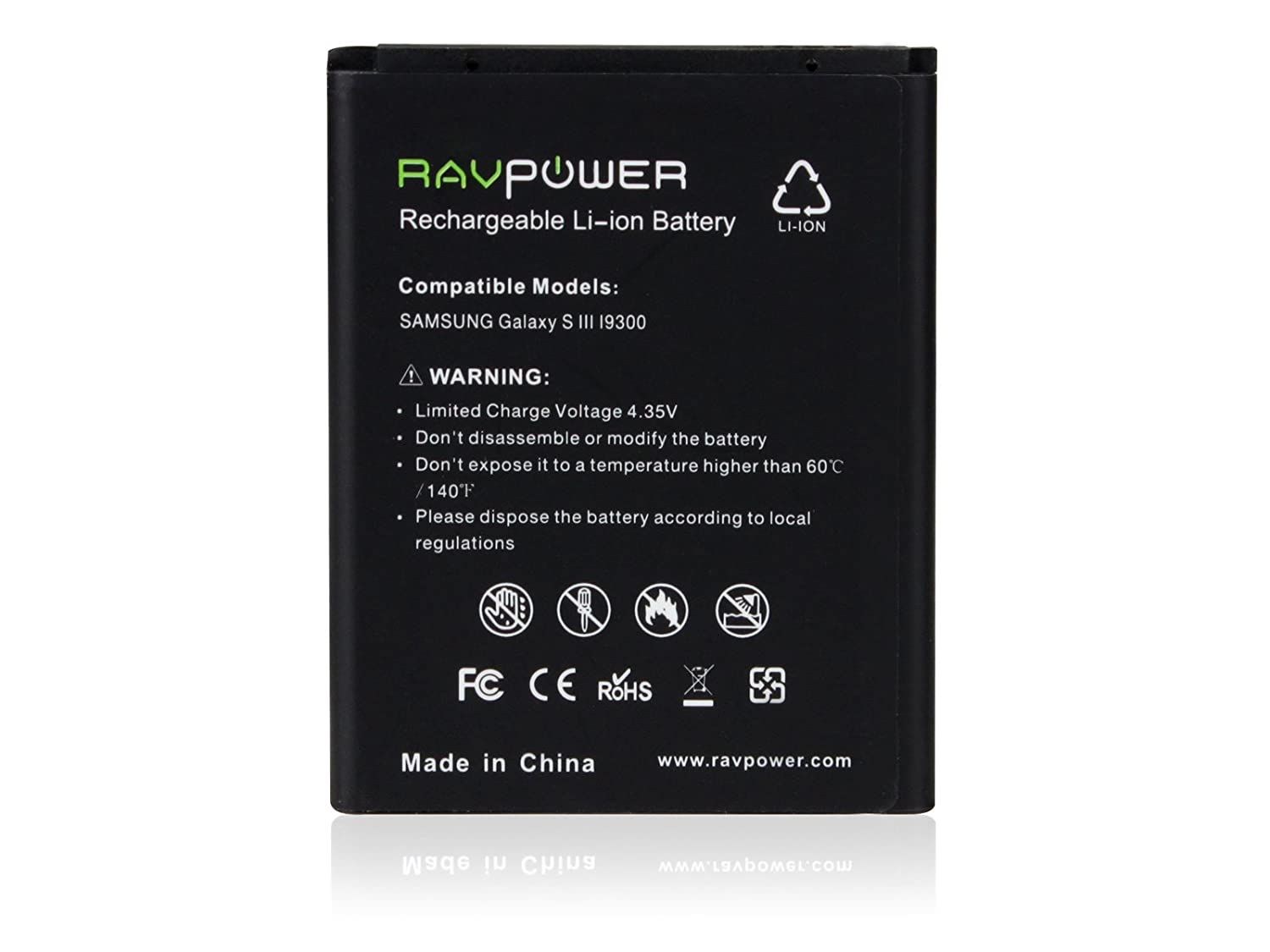 Samsung galaxy battery s3 verizon - Amazon Com Ravpower 2250mah Replacement Battery For Samsung Galaxy S3 Eb L1g6llu Gt I9300 Gt I9305 Lte T999 I747 I535 L710 R530 Nfc Capable Cell