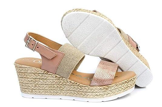 My Oh 4358 Talla40 Sandals ColorNude Sandalias Mujer Cuña jzGLMpqSVU