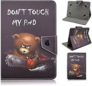 "TangoTab 10 Inch Tablet Case Universal 10inch Tablet Cover,Universal Case for 9-10 inch Tablet,Stand Folio Case Protective Cover for 9"" 10.1"" Touchscreen Tablet, with Multiple Viewing Angles"
