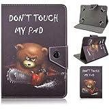TangoTab 10 Inch Tablet Case Universal 10inch Tablet Cover,Universal Case for 9-10 inch Tablet,Stand Folio Case…