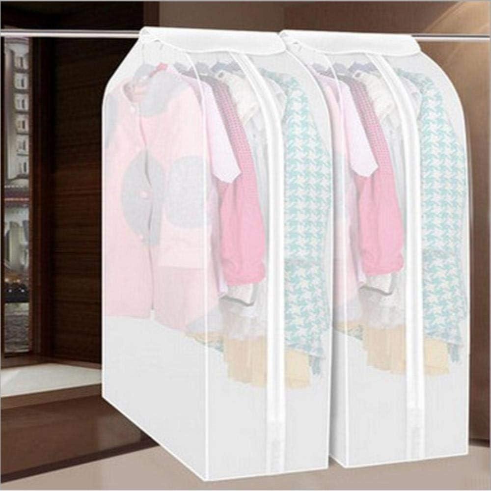 XXX Verdicktes Peeling Waschbar Abmessungen Staubschutz Kleidung Organizer Tasche Anzug Aufbewahrungstasche Kleidung H/ängetasche 60x30x110cm
