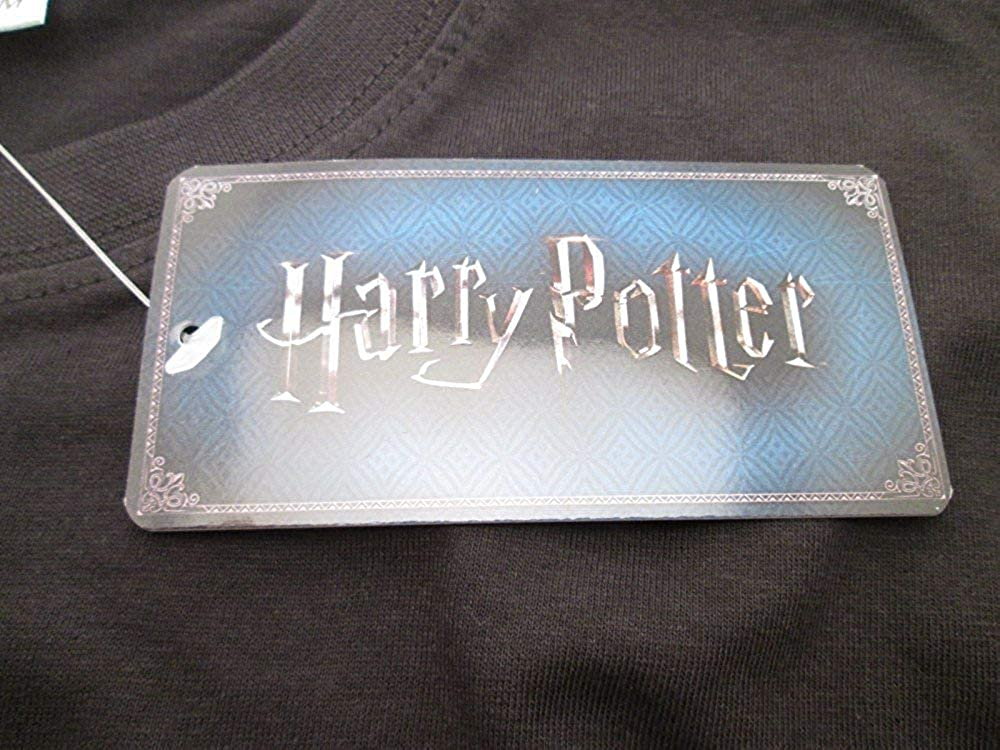 100/% Originale Ufficiale Warner Bros T-Shirt Maglietta Stemma Casa CORVONERO Harry Potter