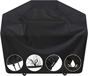 S.K Vincent Grill Cover,67- inches BBQ Cover, Grill Covers Heavy Duty Waterproof, UV and Fade Resistant,Fits Grills of 3 to 4 Burners Weber Char-Broil Nexgrill Brinkmann and More