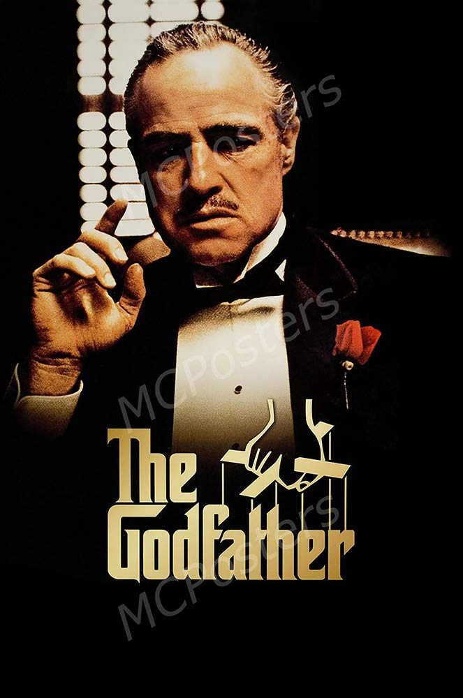 """MCPosters - The Godfather Original Glossy Finish Movie Poster - MCP657 (24"""" x 36"""" (61cm x 91.5cm))"""