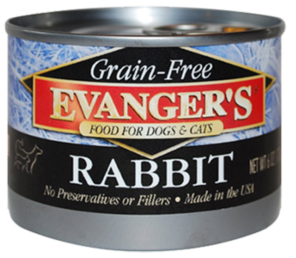 Evanger's Grain-Free Rabbit Canned Food (24 Pack)