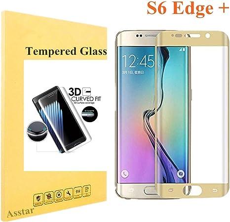 Nuevo Samsung Galaxy S6 Plus TPU completo curvo Edge protector de pantalla ultra Negro