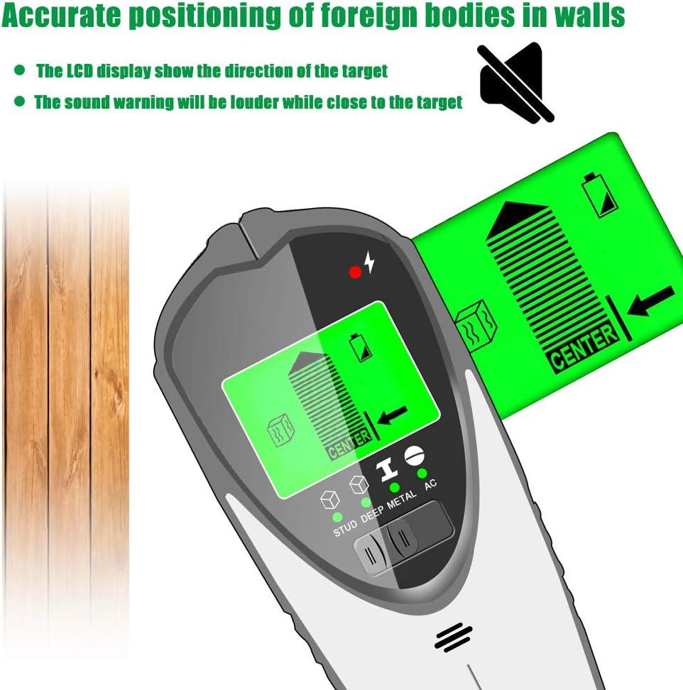Stud Finder Wandscanner Center-Finding 4-in-1-Detektor Wand Holz Finder LCD-Display