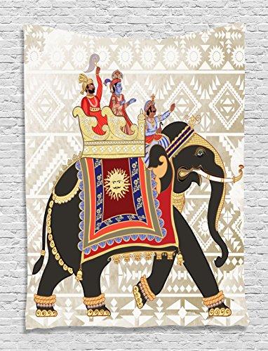 Decorated Elephant Moustache Rajasthan Bohemian