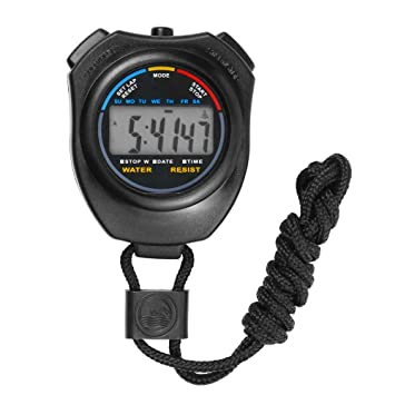 TrifyCore Cronógrafo Digital Cronómetro de Mano LCD Deportes ...