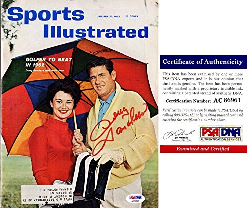 Doug Sanders Signed - Autographed Original 1962 Sports Illustrated Magazine - PSA/DNA Certificate of Authenticity (COA)