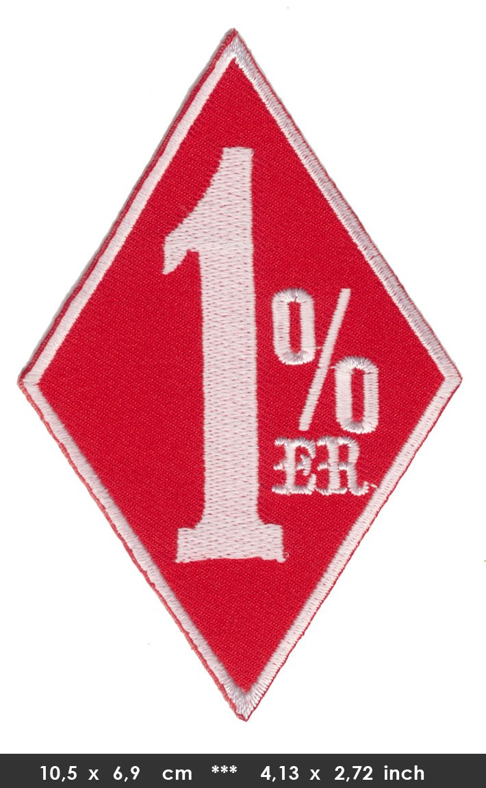 1/% 1/% /Écusson thermocollant patch Moto biker MC Rouge Turbo Livraison