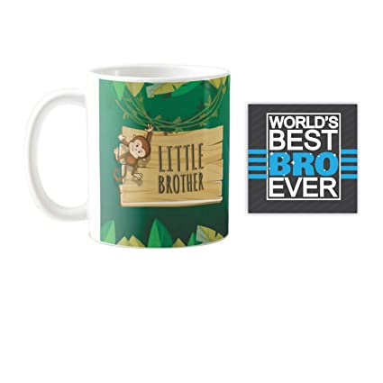Buy YaYa CafeTM Brother Little Quote Printed Mug 330 Ml Birthday Gifts Rakhi Online At Low Prices In India