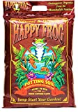 FoxFarm FX14054 Happy Frog Potting Soil, 12 Quart