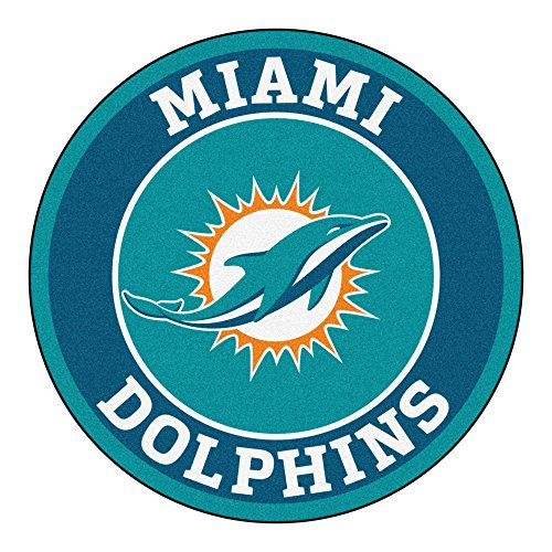 (FANMATS 17964 NFL Miami Dolphins Roundel)