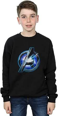 Marvel Niños Avengers Endgame Glowing Logo Camisa De Entrenamiento
