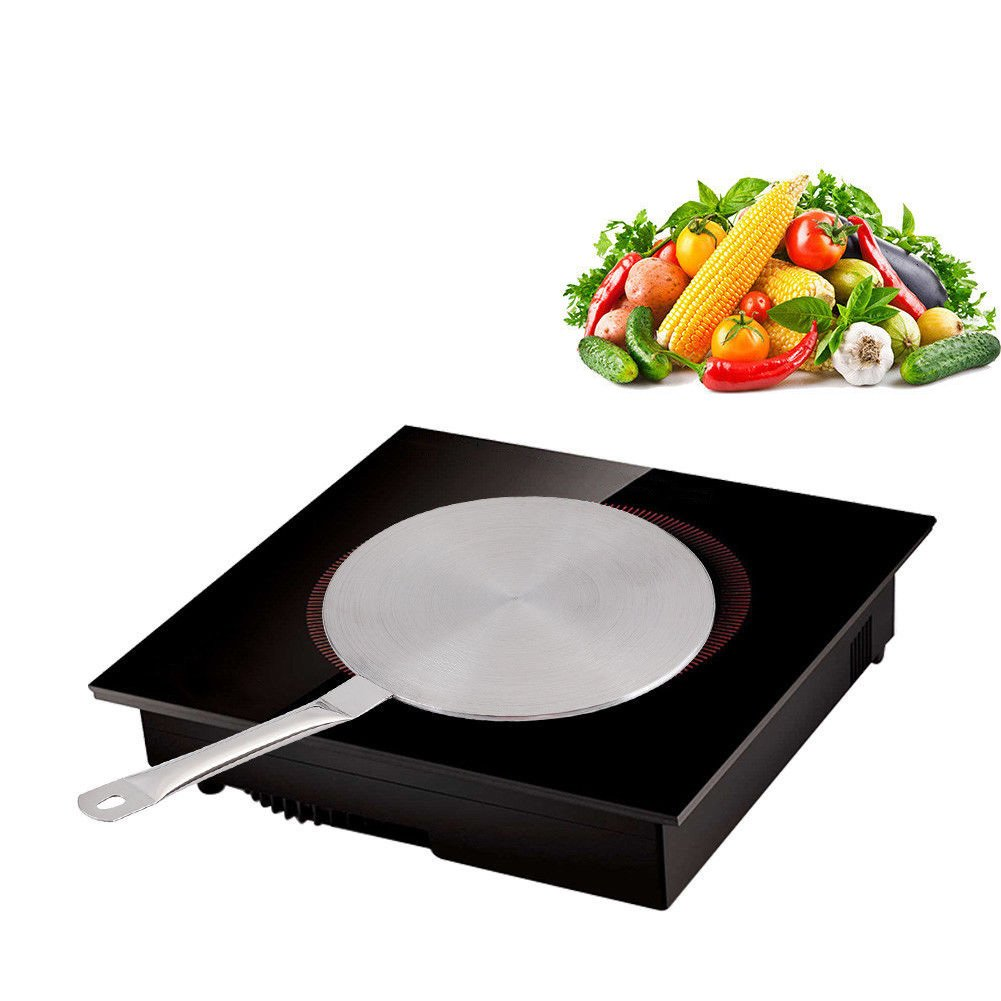 placa difusora de calor 20 cm As Picture Show Placa gu/ía de calor para cocina de inducci/ón de acero inoxidable placa de acero inoxidable para inducci/ón y estufa de gas