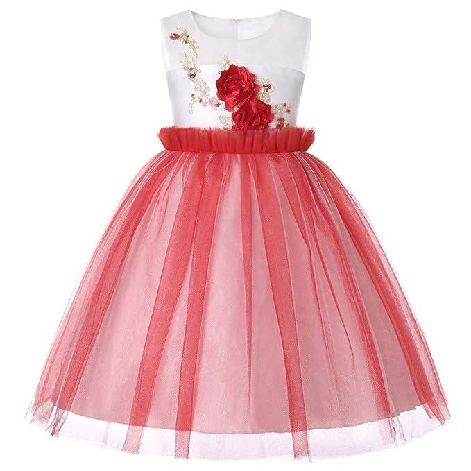 LoveLeiter Kleid für Kinder LoveLeiter Kind Mädchen Spitze