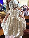 Aorme Christening Gown Dress Pink Lace Christening