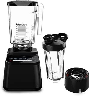product image for Blendtec Designer Series Blender-Wildside+Jar (90oz) & Go Travel Bottle (34oz) Bundle- Professional-Grade Power - Self-Cleaning - 6 Pre-programmed Cycles - 8-Speeds - Sleek & Slim - Black
