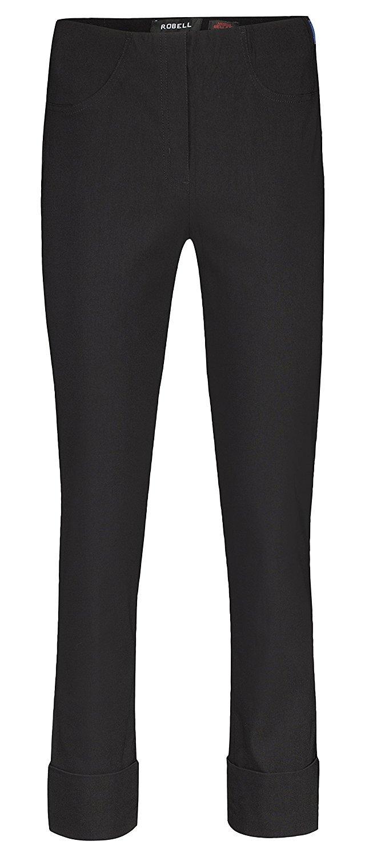 Bella von Robell Slim Fit 7/8 Schlupfhose Stretchhose Damen Hosen #Bella  09versch.Farben: Amazon.de: Bekleidung