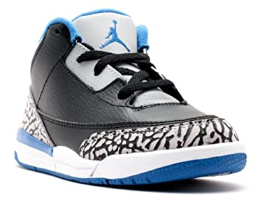 473eb09e2fb12f Nike Unisex Babies  Jordan 3 Retro BT Shoes for Newborn Babies ...